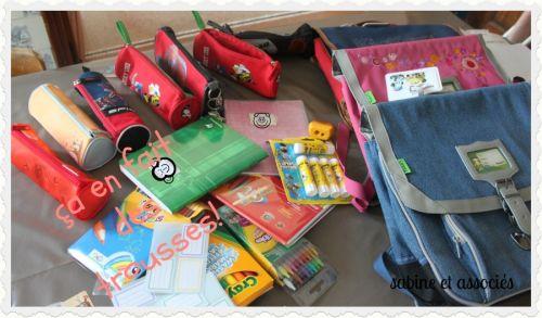 préparation rentrée scolaire, fournitures scoalires, crayola, twistables, crayons de couleur effaçables, colle uhu bleue