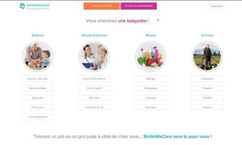 smilewecare,solution de garde pour les enfants,périscolaire,faire garder ses enfants,agence de service à la personne